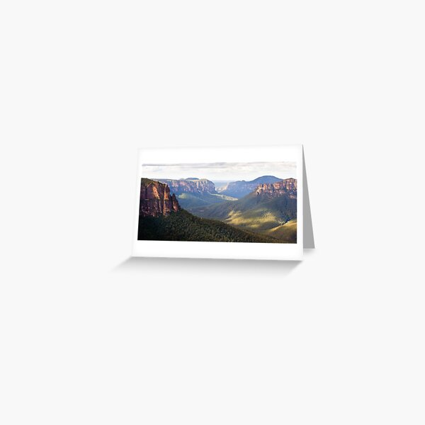 Pulpit Rock View Greeting Card