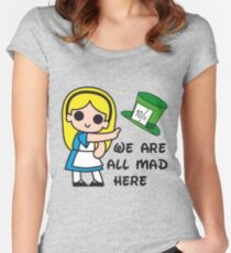Mad Alice Women's Fitted Scoop T-Shirt