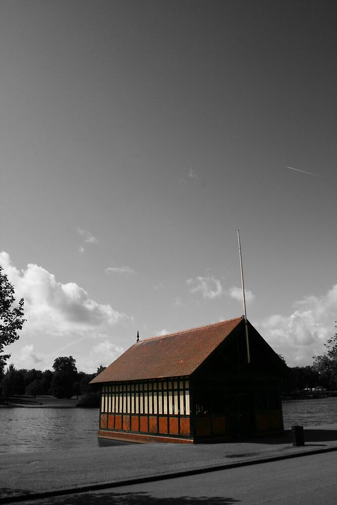 Boat House - Hyde Park by MyLondonArt