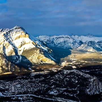 Banff Panorama by rubenwills