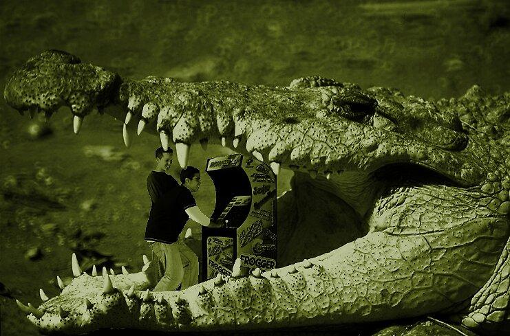 Crocodile Arcade by KarmaSparks