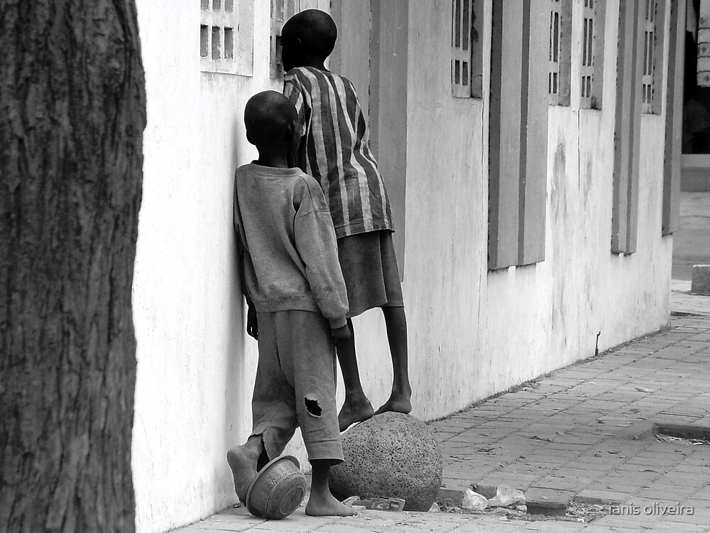 talibes (street children of senegal) by ianis oliveira