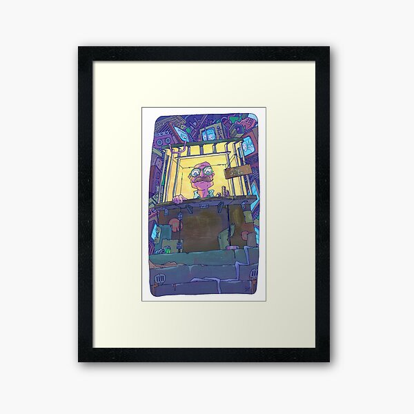 Bill Framed Art Print