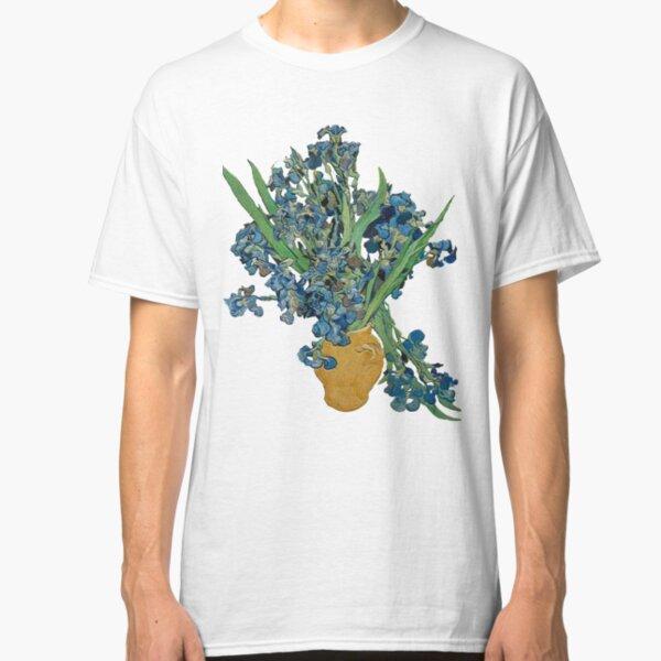 Van Gogh Iris Grunge Classic T-Shirt