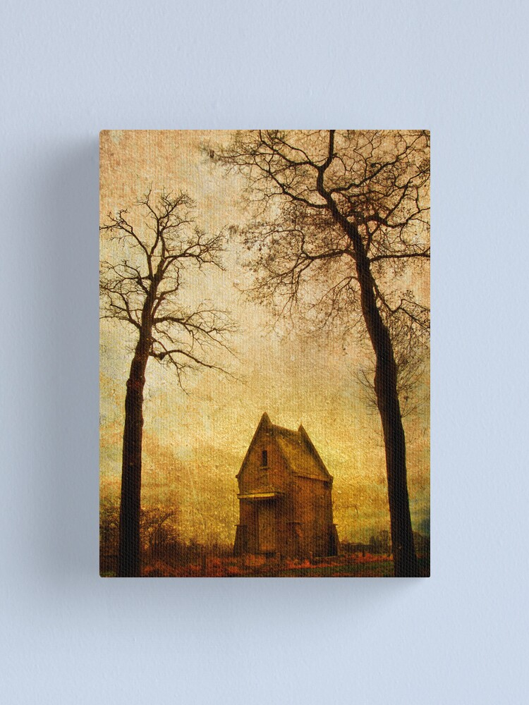 Alternate view of Small house Canvas Print