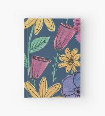 Aquarell Blumengarten Notizbuch