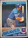 356 - Brad Komminsk by Foob's Baseball Cards