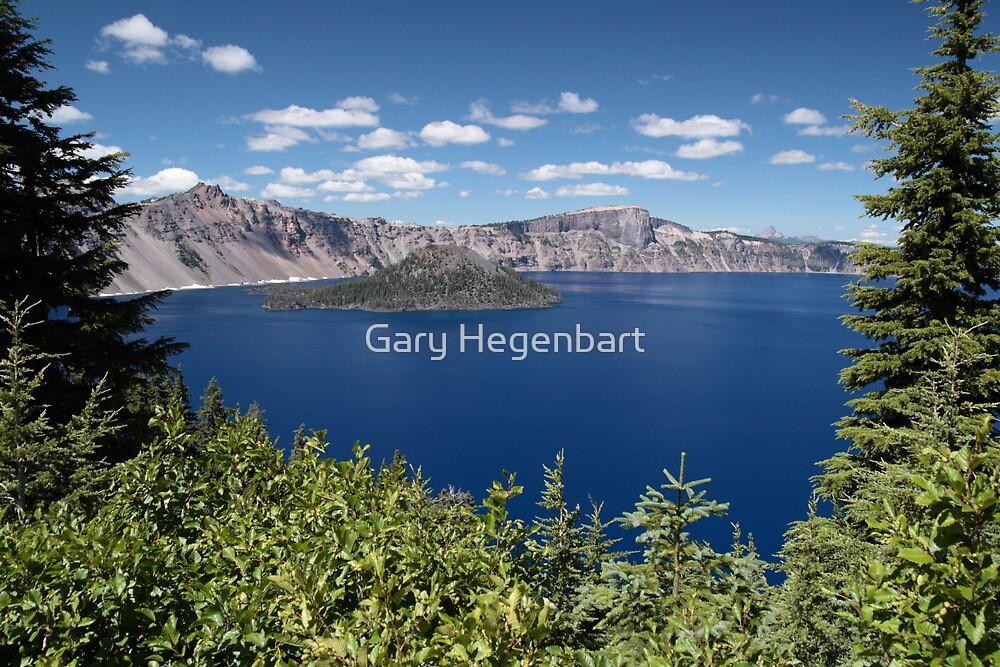 Crater Lake by Gary Hegenbart