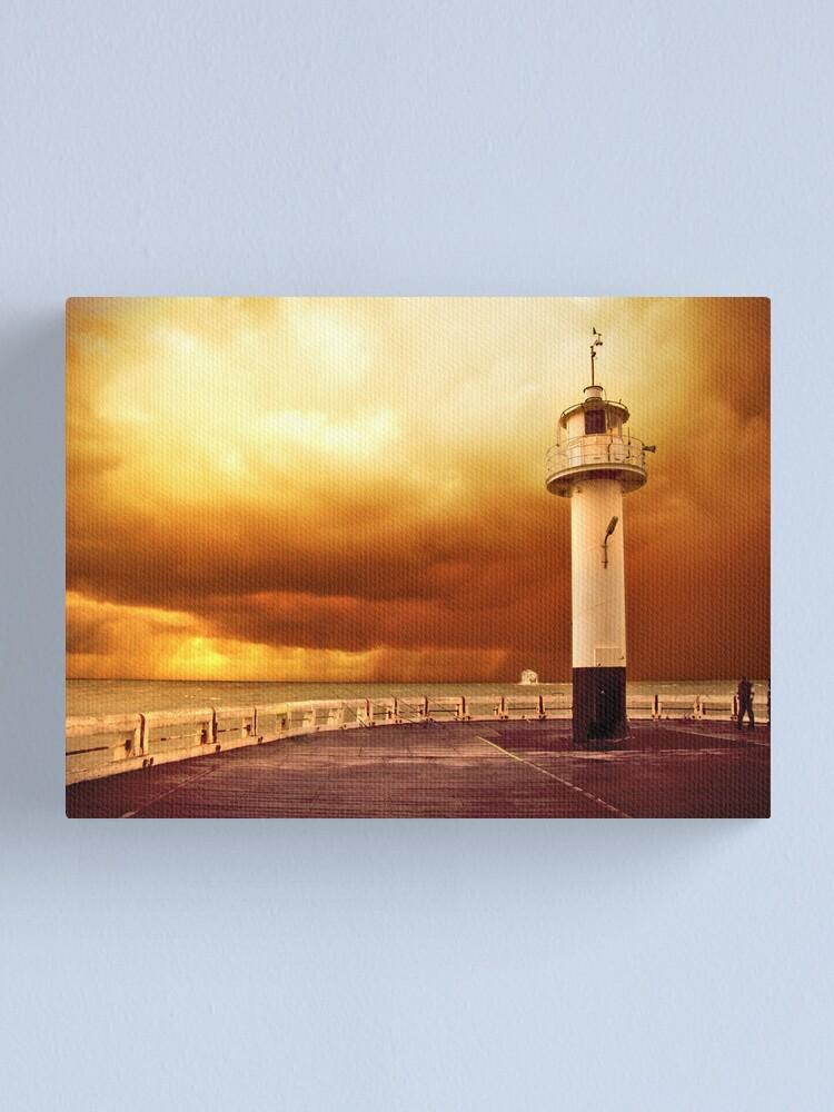 Alternate view of Pier Oostende Canvas Print
