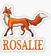 Rosalie Fox Sticker