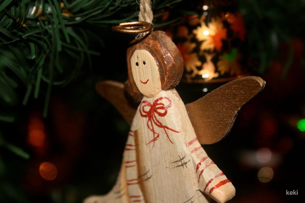 christmas angel by keki