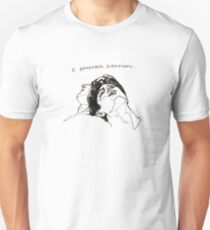 """I Remember Everything"" Line Art Unisex T-Shirt"