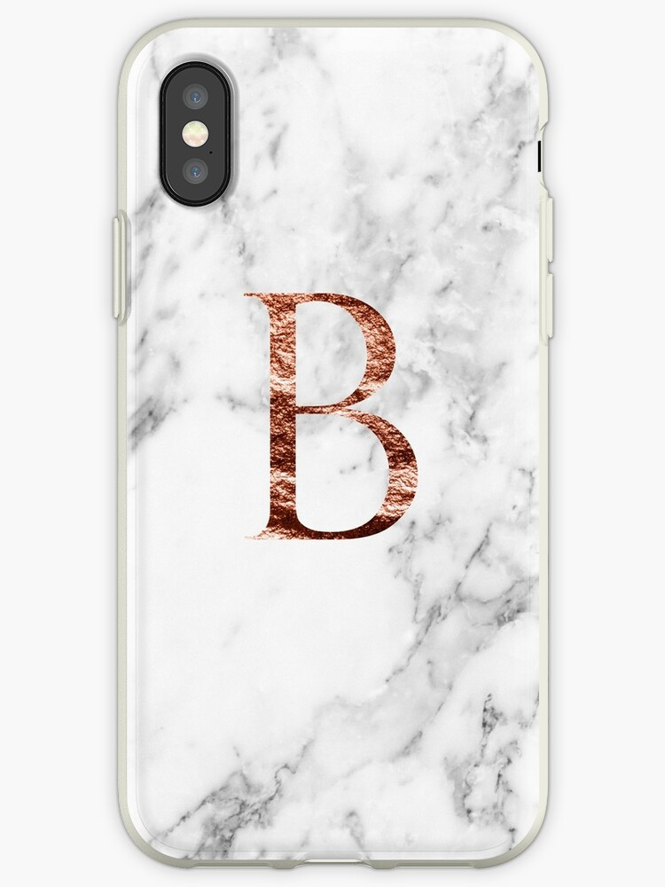 Monogram rose marble B by marbleco