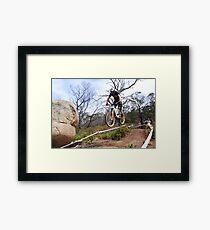 Air Time Framed Print