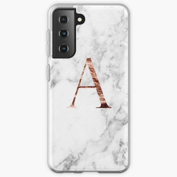 Monogram rose marble A Samsung Galaxy Soft Case