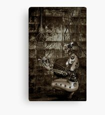 Corroded Faith Canvas Print