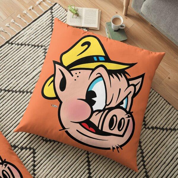 """This Little Piggy Cried """"Wassup?"""" Floor Pillow"""