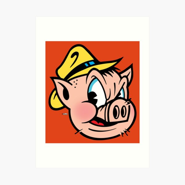 "This Little Piggy Cried ""Wassup?"" Art Print"
