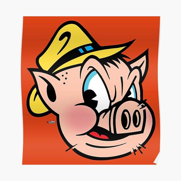 "This Little Piggy Cried ""Wassup?"" Poster"