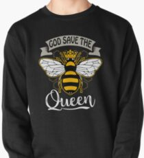 God Save The Queen  Pullover Sweatshirt