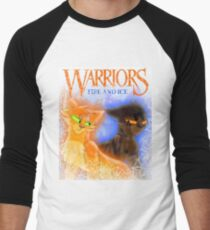 Fire and Ice - Fireheart and Tigerclaw Men's Baseball ¾ T-Shirt