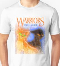 Fire and Ice - Fireheart and Tigerclaw Unisex T-Shirt
