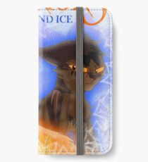 Fire and Ice - Fireheart and Tigerclaw iPhone Wallet/Case/Skin
