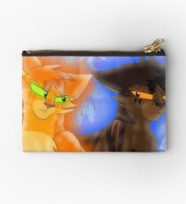 Fire and Ice - Fireheart and Tigerclaw Studio Pouch