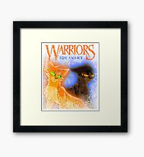 Fire and Ice - Fireheart and Tigerclaw Framed Print