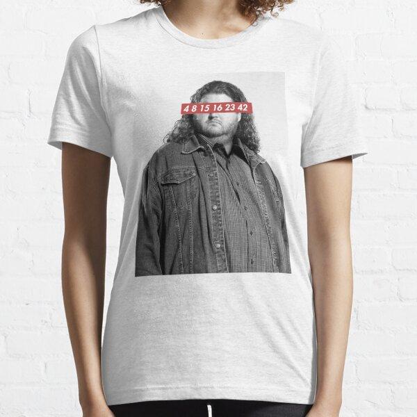 Hurley Reyes (Lost) - 4 8 15 16 23 42 Essential T-Shirt