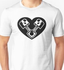 Piston Heart Unisex T-Shirt