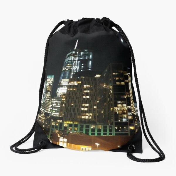 Night Drawstring Bag