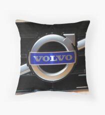 Volvo Logo Throw Pillow