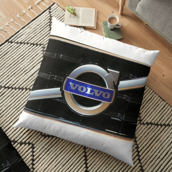 Volvo Logo Floor Pillow