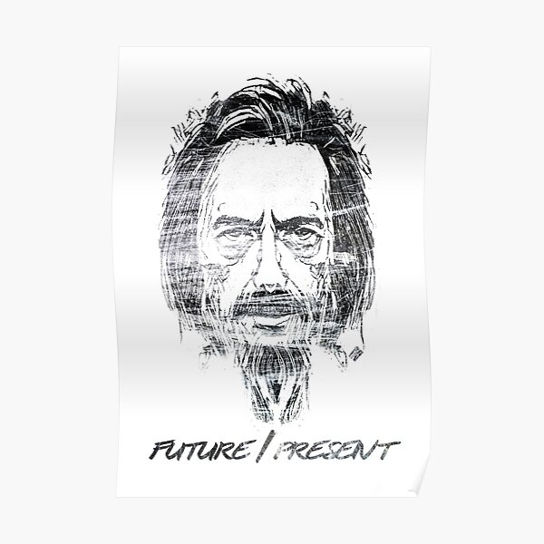 PHOTO GIFT THE PSYCHONAUT SERIES ALAN WATTS QUOTE POSTER 2