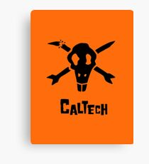 Caltech Bottlerocket (Black) Canvas Print