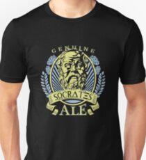 Socrates Philosophy Beer Design Unisex T-Shirt