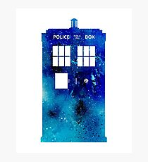 TARDIS Art Print - Doctor Who Photographic Print