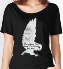 Labyrinth Alles, was ich getan habe Eule Loose Fit T-Shirt