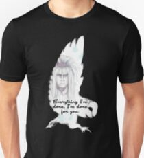 Labyrinth Alles, was ich getan habe Eule Slim Fit T-Shirt
