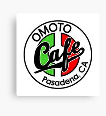 Omoto Cafe, Pasadena, CA (Color) Canvas Print