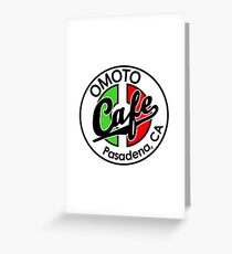 Omoto Cafe, Pasadena, CA (Color) Greeting Card