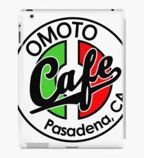 Omoto Cafe, Pasadena, CA (Color) iPad Case/Skin