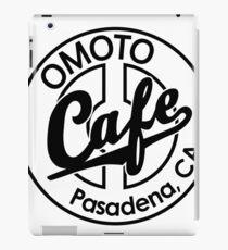 Omoto Cafe, Pasadena, CA (B&W) iPad Case/Skin