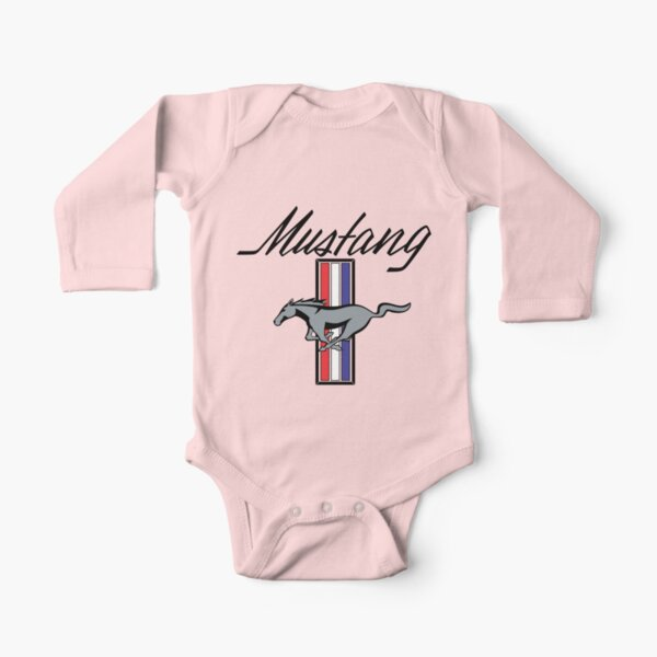 Ford Mustang Long Sleeve Baby One-Piece