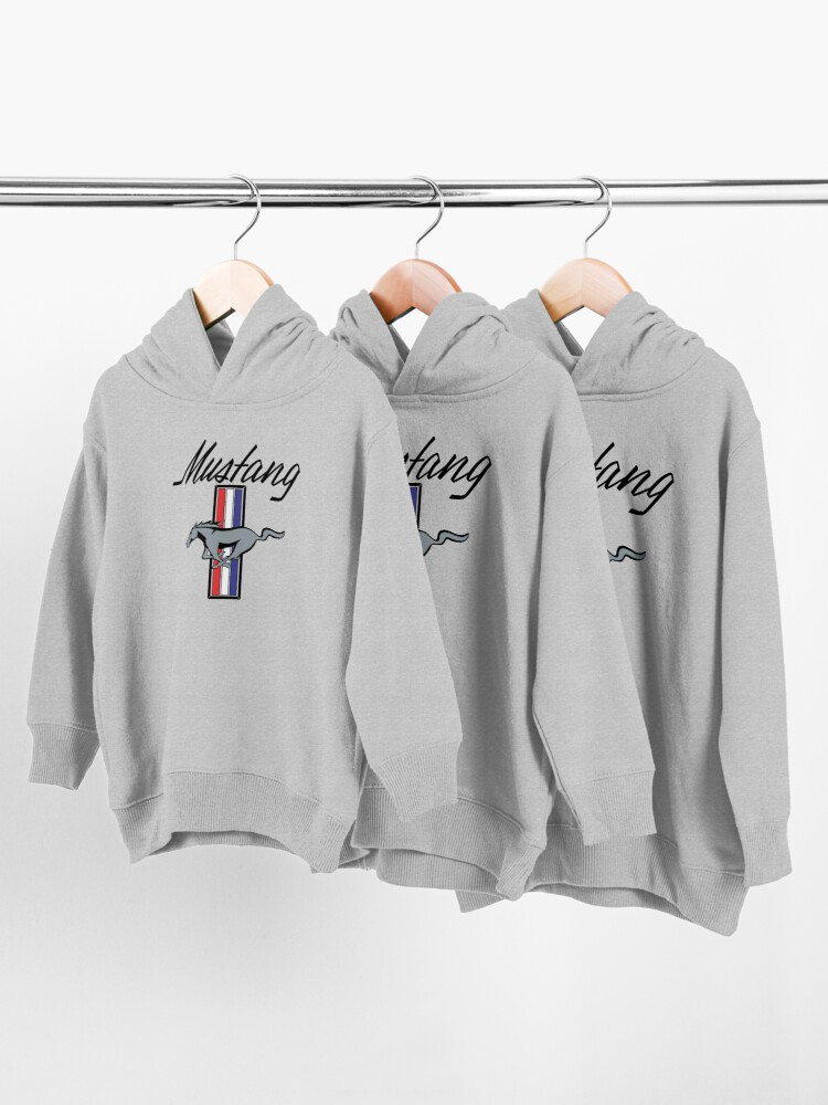 Alternate view of Ford Mustang Toddler Pullover Hoodie