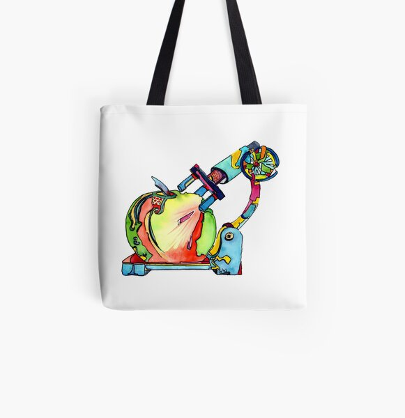 Naturopathy Under The Microscope All Over Print Tote Bag