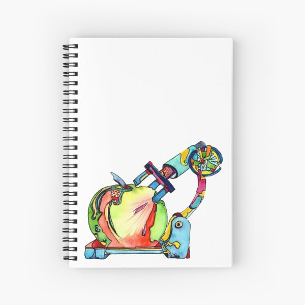 Naturopathy Under The Microscope Spiral Notebook