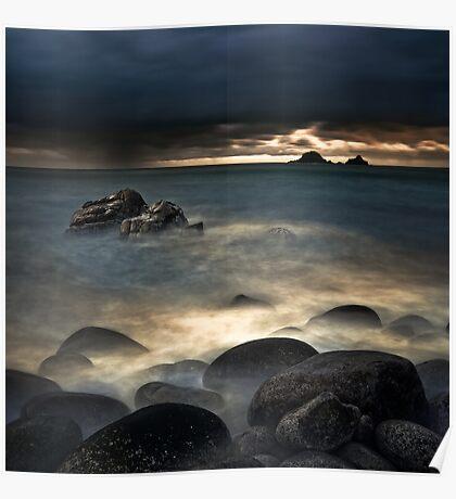 Land Sea Sky VI Poster