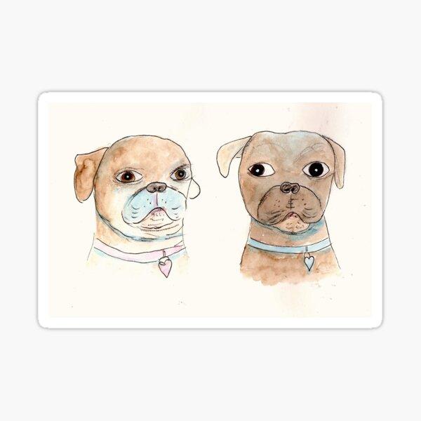 Oswalt & Sephie Sticker